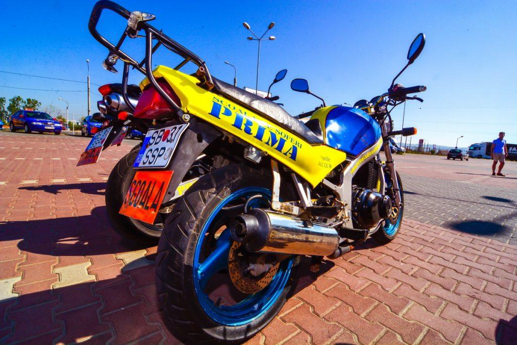 vedere pentru permis de motocicletă